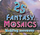 Fantasy Mosaics 25: Wedding Ceremony ゲーム
