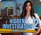 Hidden Investigation 2: Homicide ゲーム