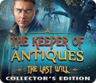 The Keeper of Antiques: The Last Will Collector's Edition ゲーム