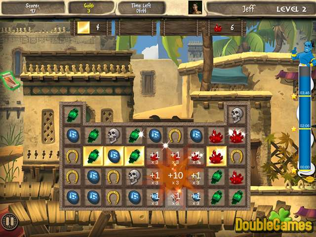 Free Download Arabian Treasures: Midnight Match Screenshot 1