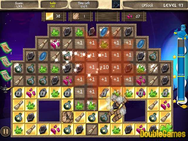 Free Download Arabian Treasures: Midnight Match Screenshot 2