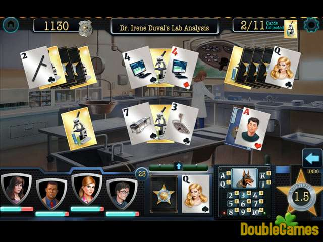 Free Download Double Clue: Solitaire Stories Screenshot 1