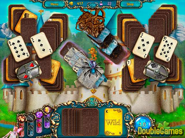 Free Download Dreamland Solitaire: Dark Prophecy Screenshot 1