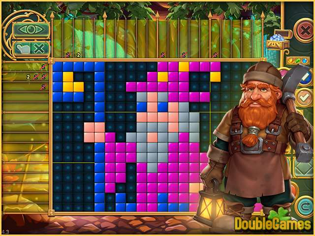 Free Download Legendary Mosaics: The Dwarf and the Terrible Cat Screenshot 2